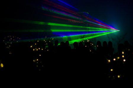 fotografia występów artystycznych, show, fotograf eventowy Wrocław, laser show
